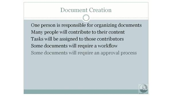 Document management overview: SharePoint 2007 Essential Training