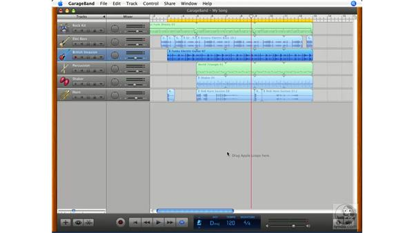 Creating your own loops: GarageBand '08 Essential Training