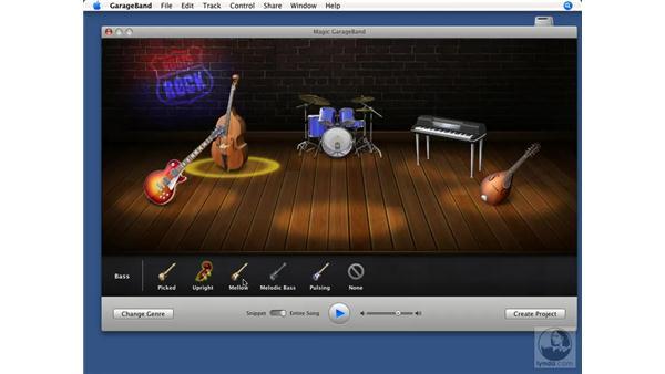 Using Magic GarageBand: GarageBand '08 Essential Training