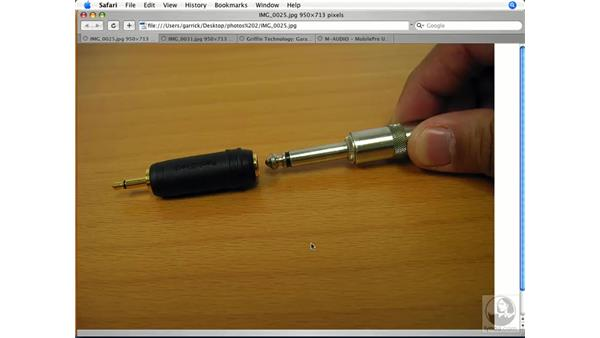 Getting sounds into your Mac: GarageBand '08 Essential Training