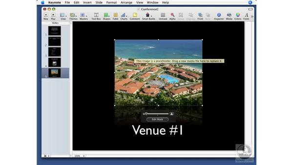 Using photo cutouts: Keynote '08 Essential Training