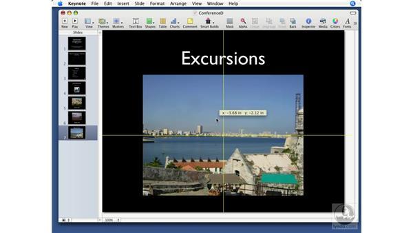 Masking images: Keynote '08 Essential Training