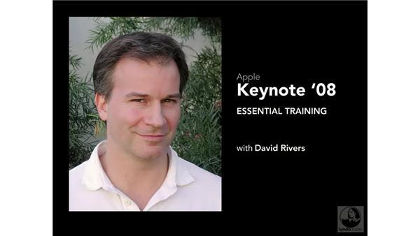 Goodbye: Keynote '08 Essential Training