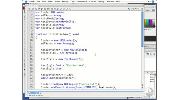 Styling text: ActionScript 3.0 Projects: Game Development