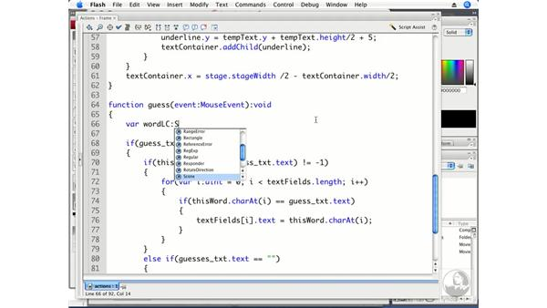 Dealing with case sensitivity: ActionScript 3.0 Projects: Game Development