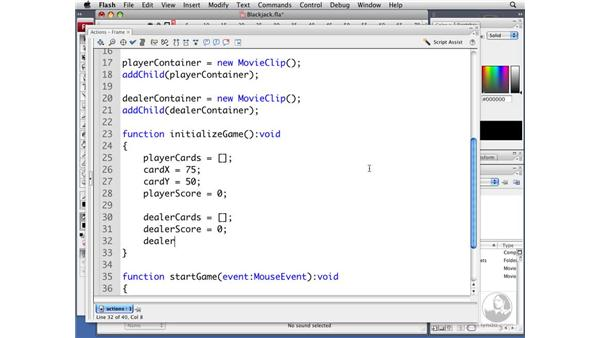 Initializing the game: ActionScript 3.0 Projects: Game Development