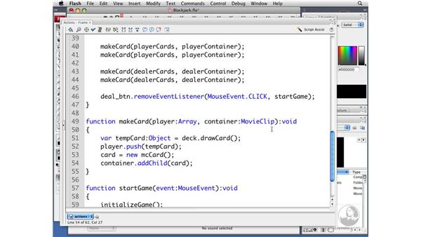 Dealing cards: ActionScript 3.0 Projects: Game Development