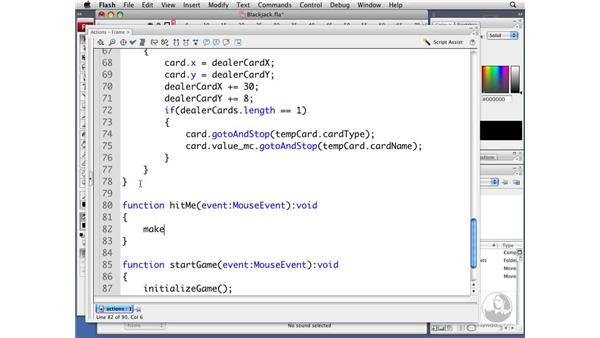 Drawing or not drawing additional cards: ActionScript 3.0 Projects: Game Development