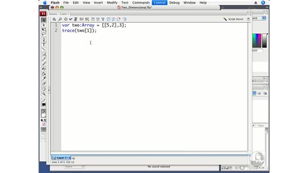 Creating 2D arrays: ActionScript 3.0 Projects: Game Development