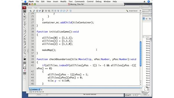 Moving tiles: ActionScript 3.0 Projects: Game Development