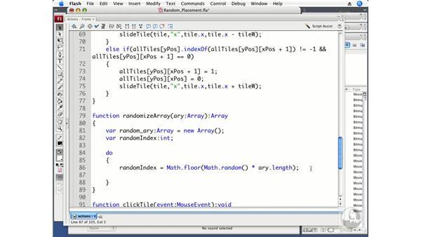 Randomizing tile placement: ActionScript 3.0 Projects: Game Development