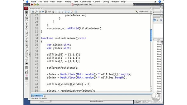 Setting target positions: ActionScript 3.0 Projects: Game Development