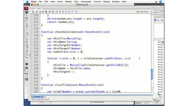 Determining a win: ActionScript 3.0 Projects: Game Development