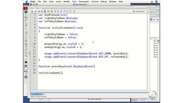 Capturing key presses: ActionScript 3.0 Projects: Game Development