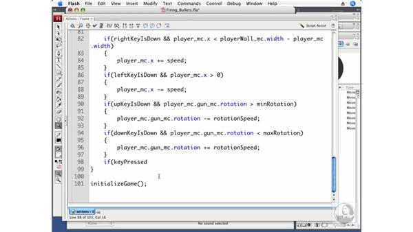 Firing bullets: ActionScript 3.0 Projects: Game Development