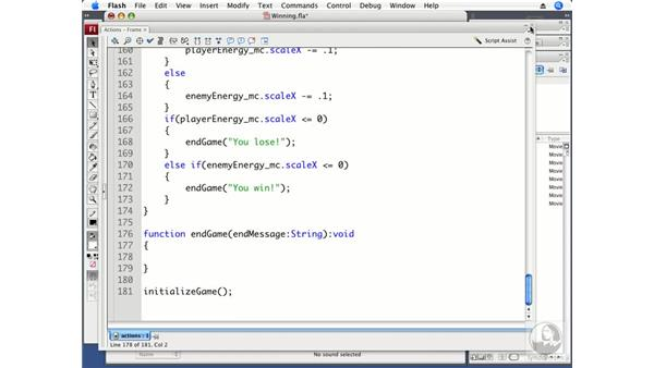 Winning and losing the game: ActionScript 3.0 Projects: Game Development