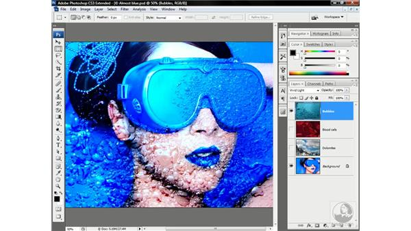 Mapping one image onto another: Photoshop CS3 Channels & Masks: Advanced Techniques