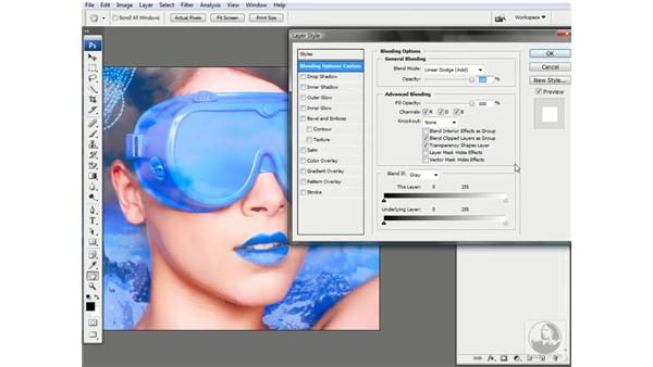 Enhancing highlights by hiding them: Photoshop CS3 Channels & Masks: Advanced Techniques