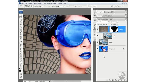 Smart Object first, layer mask second: Photoshop CS3 Channels & Masks: Advanced Techniques