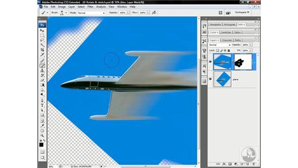 A jet of motion blur: Photoshop CS3 Channels & Masks: Advanced Techniques