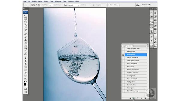 Welcome to the glass composition: Photoshop CS3 Channels & Masks: Advanced Techniques