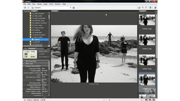 Assembling the perfect group photo: Photoshop CS3 Channels & Masks: Advanced Techniques