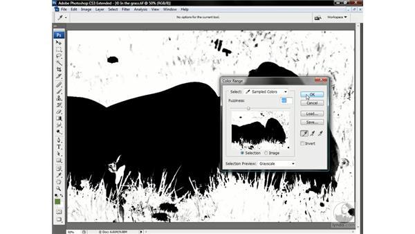 Fashioning a depth map: Photoshop CS3 Channels & Masks: Advanced Techniques