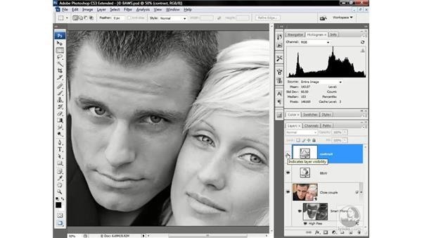 Creating a professional-level sepia tone: Photoshop CS3 Channels & Masks: Advanced Techniques