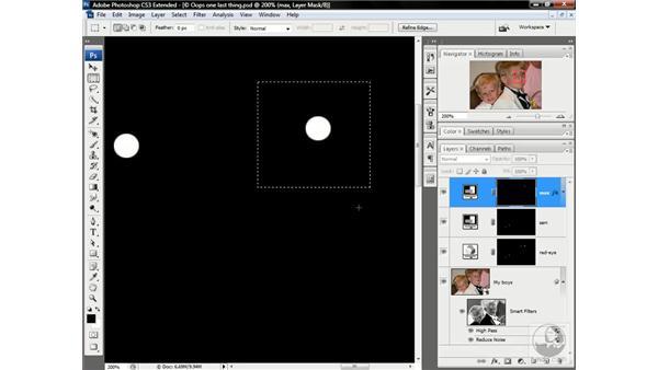 Making pupils match: Photoshop CS3 Channels & Masks: Advanced Techniques