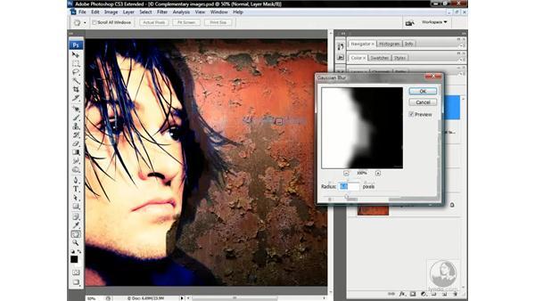 Multiply, Minimum, Blur, and Apply Image: Photoshop CS3 Channels & Masks: Advanced Techniques