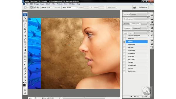 The big paths project overview: Photoshop CS3 Channels & Masks: Advanced Techniques