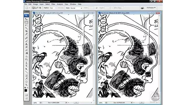 Measuring the 16-bit difference: Photoshop CS3 Channels & Masks: Advanced Techniques