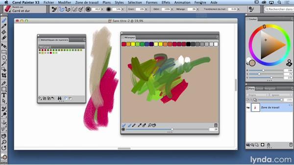 Créer sa palette et ses propres nuanciers pour ses mélanges