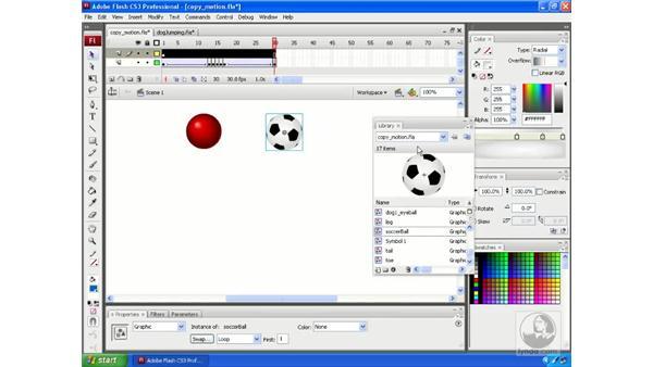 Copy Motion: Flash CS3 Animation Secrets