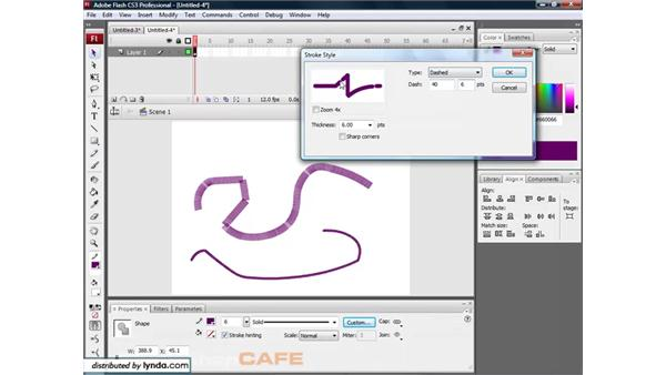 Strokes: Flash CS3 for Designers