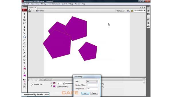 Shapes: Flash CS3 for Designers