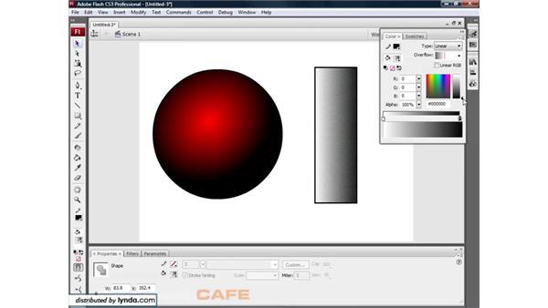Gradients: Flash CS3 for Designers