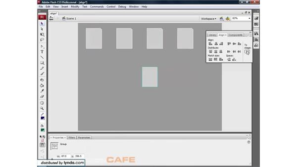 Align and Distribute: Flash CS3 for Designers