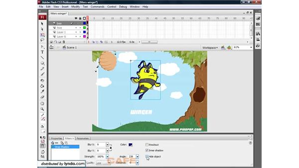 Filters: Flash CS3 for Designers