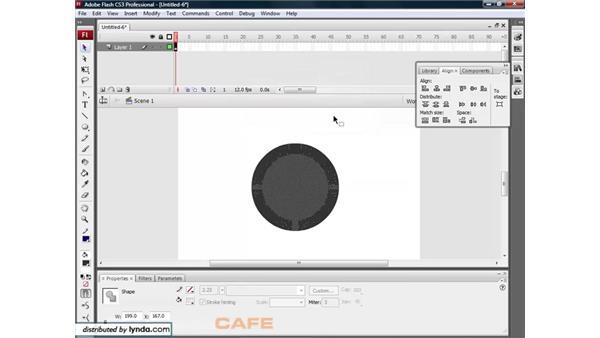 Soften Fill Edges: Flash CS3 for Designers