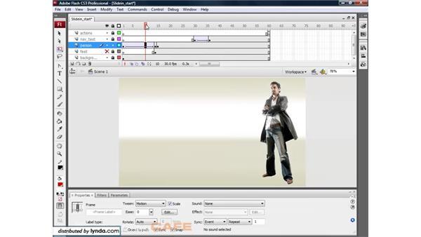 Animated blur: Flash CS3 for Designers