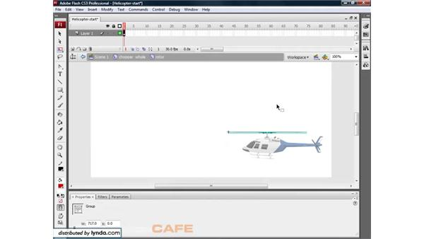 Nested animation: Flash CS3 for Designers