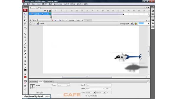 Animation filters: Flash CS3 for Designers