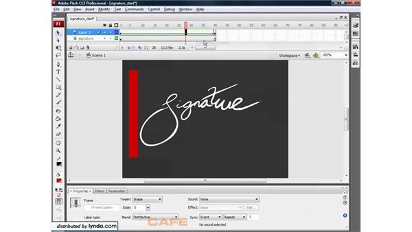 Motion masks: Flash CS3 for Designers