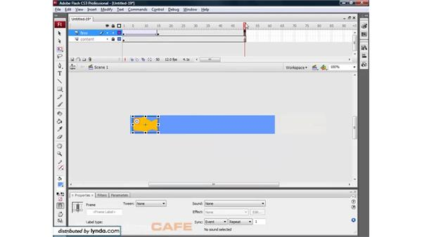 Creating a banner ad: Flash CS3 for Designers