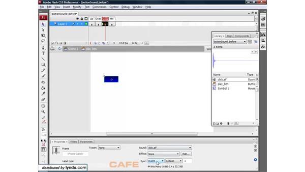 Sound: Flash CS3 for Designers