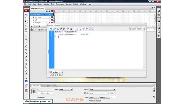 Building a multi-video player: Flash CS3 for Designers