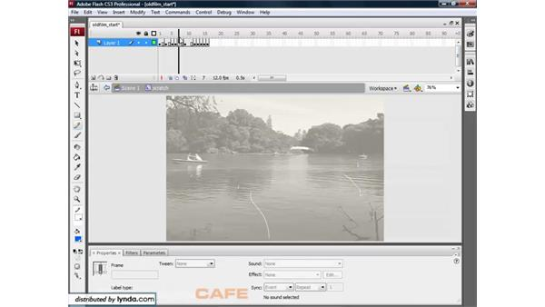 Adding filters to videos: Flash CS3 for Designers