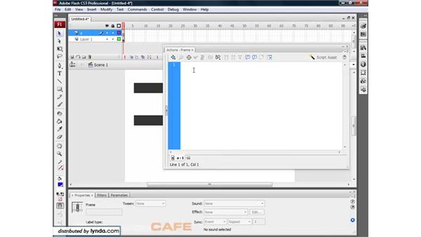 Using movie clips as buttons: Flash CS3 for Designers