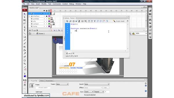 Web page navigation systems: Flash CS3 for Designers